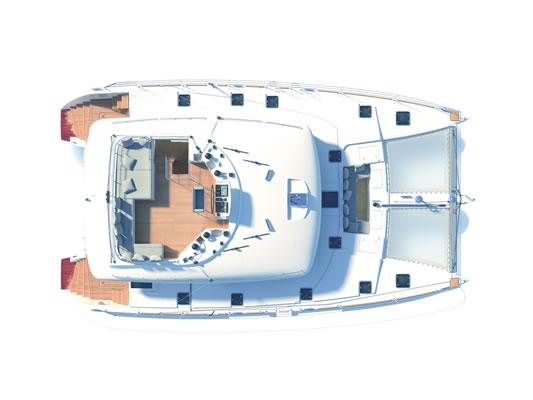 Santorini Sailing Yacht Rentals | Lagoon 560 – Sunrise II