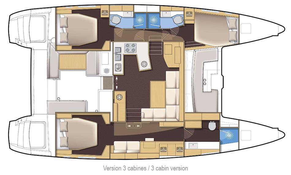 Santorini Sailing Yacht Rentals | Lagoon 450 – Anafi